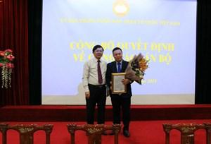 UBTƯ MTTQ Việt Nam tiếp nhận và bổ nhiệm Phó Giám đốc Trung tâm BDCB và NCKH