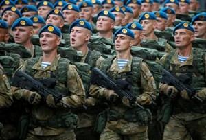 Ukraine huy động quân dự bị đối phó Nga