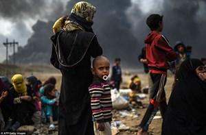 UNICEF: 100.000 trẻ em ở Mosul đang bị đe dọa bởi chiến sự