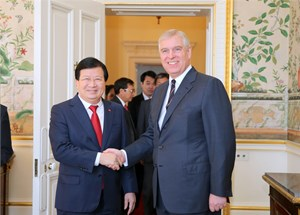 Ưu tiên thúc đẩy quan hệ Đối tác chiến lược Việt Nam - Anh