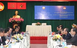 Ủy ban Mặt trận Lào Xây dựng Đất nước Thủ đô Viêng Chăn làm việc tại TP HCM