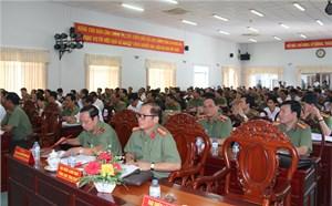Vận động tín đồ Phật giáo Hòa Hảo tham gia bảo đảm ANTT