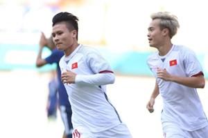 [VIDEO] Cận cảnh Quang Hải ghi bàn, Olympic Việt Nam hạ Olympic Nhật Bản