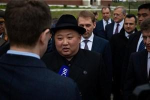 [VIDEO] Ông Kim Jong-un lần đầu trả lời phỏng vấn truyền thông nước ngoài tại Vladivostok