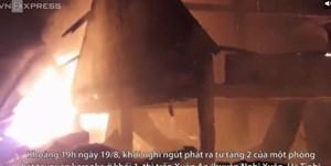 [VIDEO] Quán karaoke bốc cháy nghi ngút trong đêm