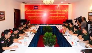 Việt Nam-Campuchia hợp tác xây dựng pháp luật quân sự, quốc phòng