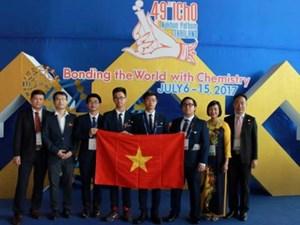 Việt Nam đạt thành tích cao bất ngờ tại Olympic Hóa học quốc tế 2017