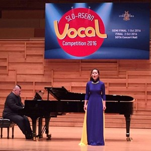 Việt Nam giành giải Nhì cuộc thi thanh nhạc ASEAN