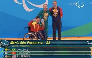 Việt Nam giành thêm 2 huy chương tại Paralympics Rio