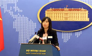 Việt Nam khẳng định lại quan điểm 'mạnh mẽ phản đối' Trung Quốc tập trận bắn đạn tại Hoàng Sa