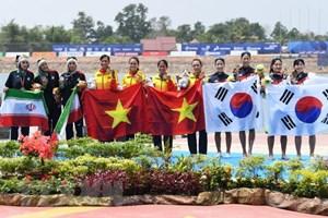 Việt Nam lên vị trí 14 trên bảng tổng sắp huy chương