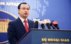 Việt Nam phản đối hoạt động kỷ niệm của Trung Quốc liên quan đến Hoàng Sa và Trường Sa