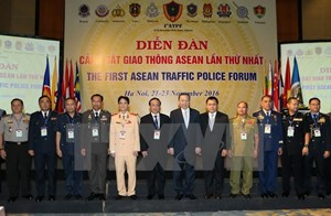 Việt Nam tổ chức Diễn đàn Cảnh sát Giao thông ASEAN lần 1