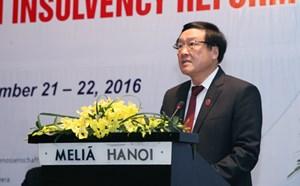 Việt Nam ưu tiên cải cách thủ tục xử lý phá sản