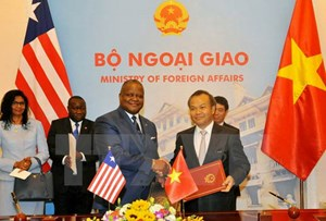 Việt Nam và Liberia chính thức thiết lập quan hệ ngoại giao