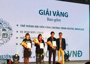 Viettel trao giải 'Lắng nghe để phát triển' năm 2018