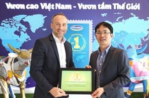 Vinamilk 3 năm liên tiếp nằm trong top những thương hiệu được lựa chon nhiều nhất ở Việt Nam
