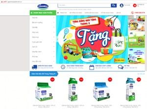 Vinamilk ra mắt website thương mại điện tử 'Giấc mơ sữa Việt'