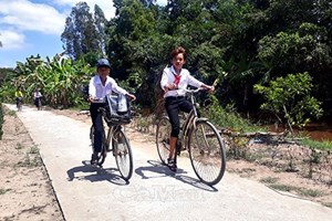 Vĩnh Long: Phấn đấu xây dựng huyện nông thôn mới