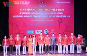 'Vinh quang thể thao Việt Nam': Tôn vinh những tấm gương thể thao xuất sắc