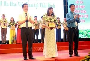 Thái Bình: Tuyên dương 90 công nhân lao động và cán bộ công đoàn cơ sở tiêu biểu