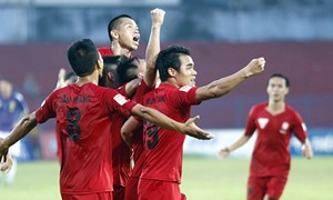 Vòng 21 V-League: Duy trì trật tự