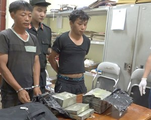 Lào Cai: Bắt giữ các đối tượng vận chuyển 16 bánh heroin