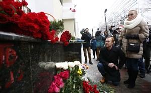 Vụ rơi máy bay: Nga tổ chức chiến dịch tìm kiếm đồ sộ trong ngày quốc tang