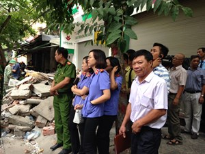 Vụ sập nhà 43 Cửa Bắc, Hà Nội: Văn bản lắt léo