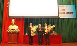Vụ trưởng TCCB bất ngờ được bổ nhiệm Hiệu trưởng ĐH Luật Hà Nội
