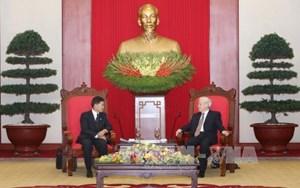 Vun đắp quan hệ hữu nghị truyền thống, đoàn kết đặc biệt, hợp tác toàn diện Việt Nam - Lào