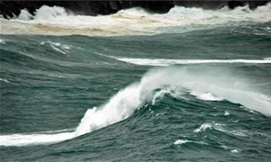 Vùng biển từ Ninh Thuận tới Cà Mau biển động