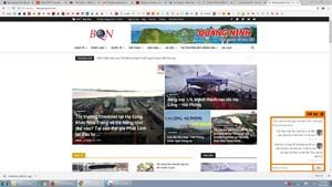 Website giả mạo Báo Quảng Ninh điện tử