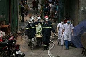 Xác định danh tính 8 nạn nhân tử vong trong vụ cháy nhà xưởng ở phường Trung Văn