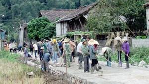 Xây dựng nông thôn mới ở Lạng Sơn