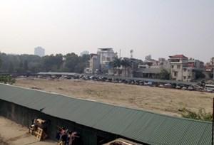 Xây trung tâm thương mại kết hợp bãi đỗ xe ngầm tại Công viên Thống Nhất