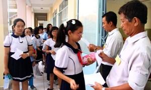 Xét tuyển vào lớp 6: Nhiều tiêu chí phụ