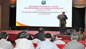 Xúc tiến Đầu tư - Du lịch vào tỉnh Sê Kông (Lào)