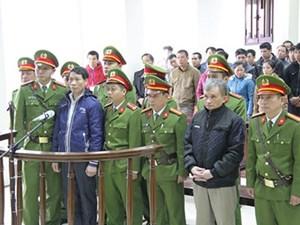 Y án phạt tù hai bị cáo hoạt động nhằm lật đổ chính quyền nhân dân