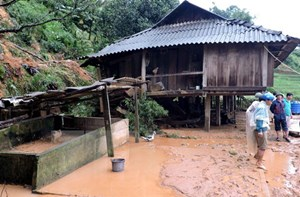 Yên Bái: 2 người chết, 1 người bị thương do ảnh hưởng bão số 3