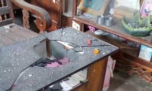 Nổ mìn khai thác đá làm 4 người bị thương