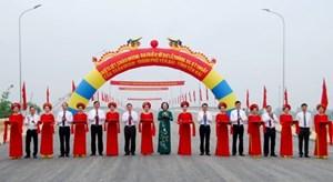 Yên Bái thông xe kỹ thuật cầu Tuần Quán kết nối Quốc lộ 32C