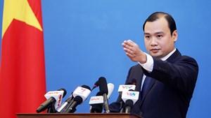 Yêu cầu Đài Loan không tái diễn hành động xâm phạm chủ quyền Việt Nam
