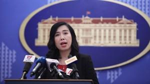 Yêu cầu Đài Loan không tiến hành bắn đạn thật ở đảo Ba Bình của Việt Nam