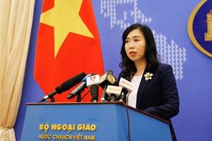 Yêu cầu Trung Quốc tôn trọng chủ quyền của Việt Nam đối với quần đảo Hoàng Sa và Trường Sa