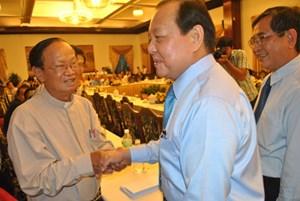 Bí thư Thành ủy TP.Hồ Chí Minh Lê Thanh Hải gặp mặt các thế hệ những người làm báo ở phía Nam