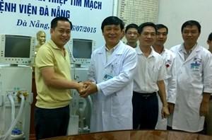 BV Đà Nẵng tiếp nhận 2 máy thở hiện đại