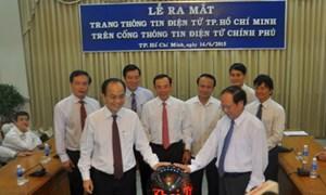 Cổng thông tin điện tử Chính phủ khai trương trang thông tin TP. Hồ Chí Minh