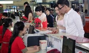 Giá vé hàng không nội địa giảm 4%