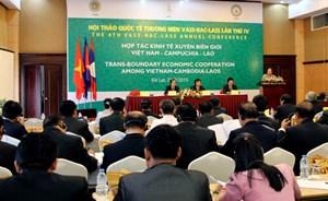 Hội thảo hợp tác kinh tế xuyên biên giới giữa 3 nước Việt Nam - Lào - Campuchia